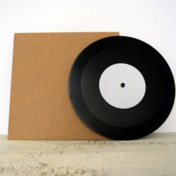custom lathe cut vinyl record