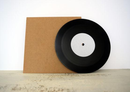 custom lathe cut vinyl record