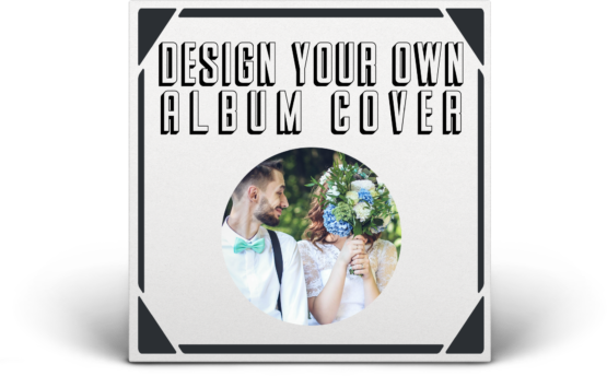custom vinyl record album cover
