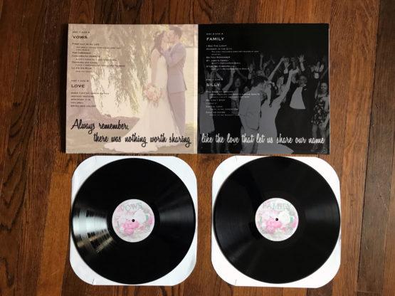 Custom gatefold vinyls