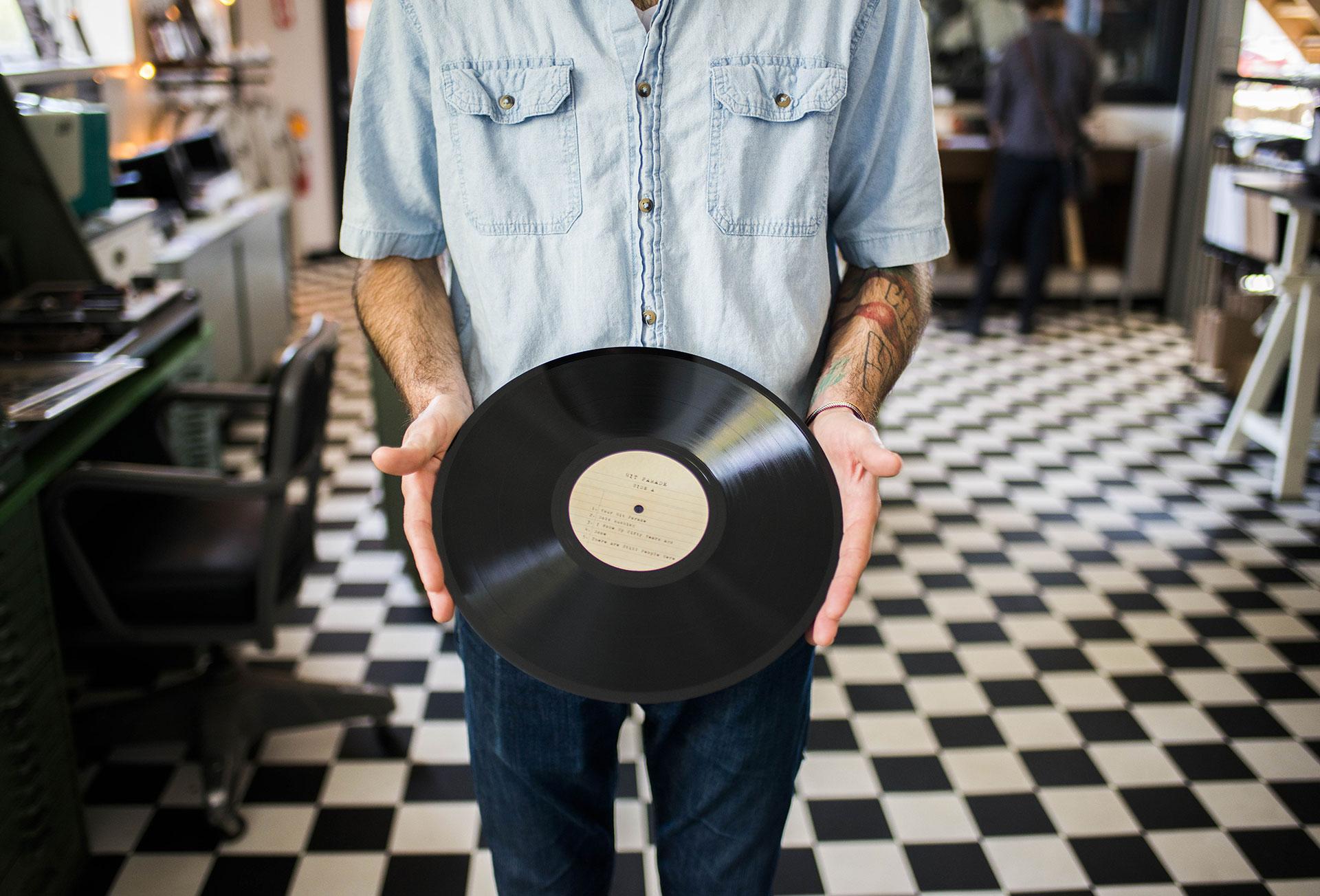 Quality Made Custom Vinyl Records