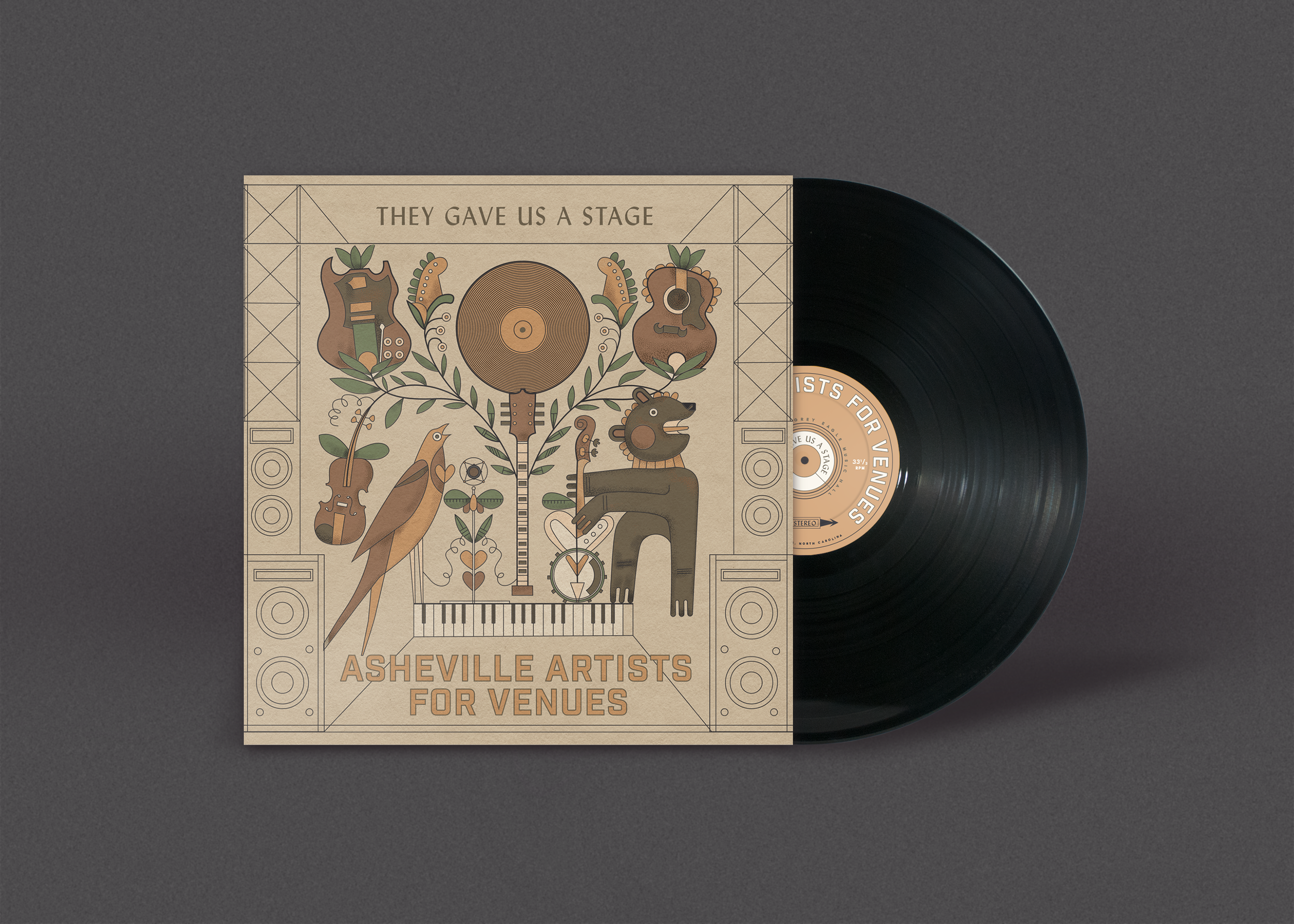 Help Asheville Local Venues By Backing This Compilation Record